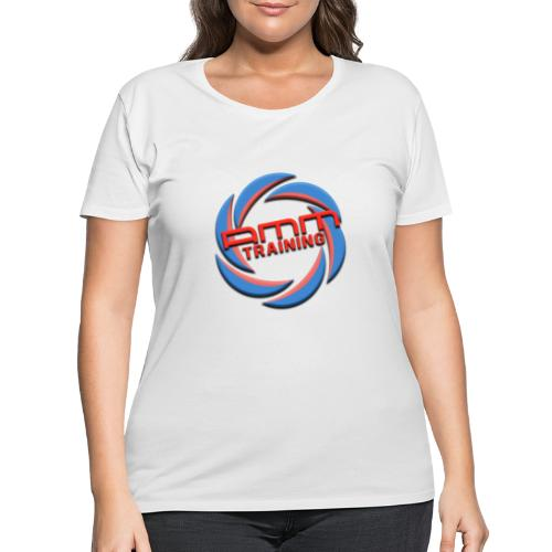 AMMT LOGO WEB - Women's Curvy T-Shirt