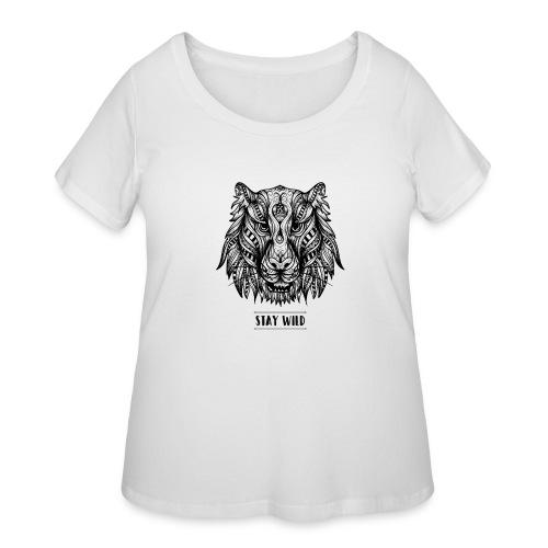 Stay Wild - Women's Curvy T-Shirt