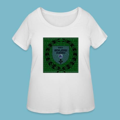 party boileau 7 - Women's Curvy T-Shirt