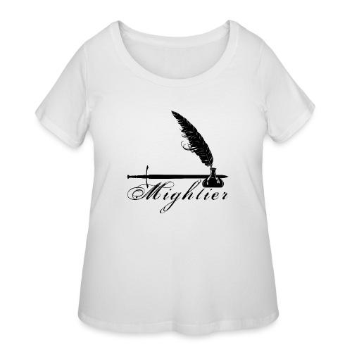 mightier - Women's Curvy T-Shirt