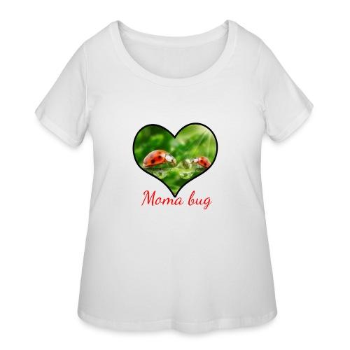 moma bug - Women's Curvy T-Shirt