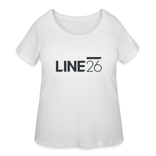 Line26 Logo (Dark Version) - Women's Curvy T-Shirt