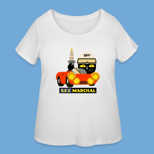 Marchal racer - Women's Curvy T-Shirt