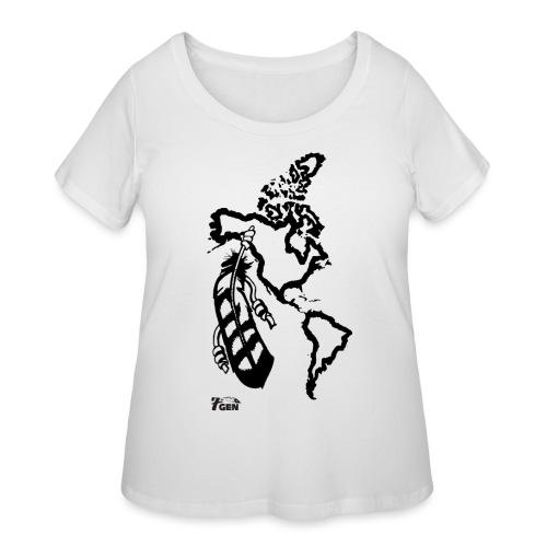 NativeLand - 7thGen - Women's Curvy T-Shirt