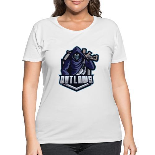 Outlaws Gaming Clan - Women's Curvy T-Shirt