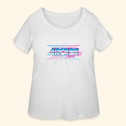 Arcade Fever 81 - Women's Curvy T-Shirt