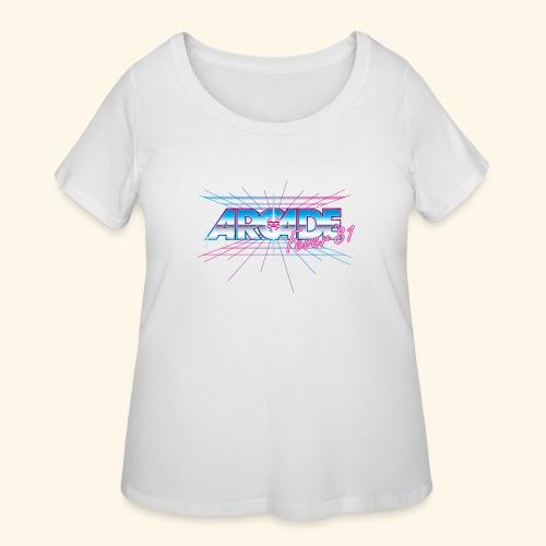 Arcade Fever 81 - Women's Curvy T-Shirt