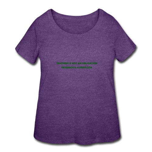 Teaching - Women's Curvy T-Shirt
