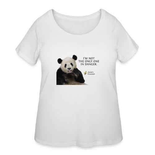 Endangered Pandas - Josiah's Covenant - Women's Curvy T-Shirt