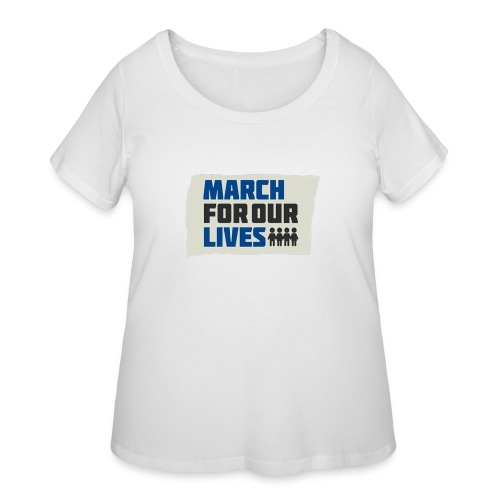 March For Our Lives 2018 T Shirts - Women's Curvy T-Shirt