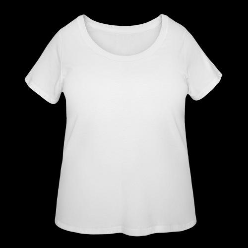 DREAM BANDITS WHITE Large Logo - Women's Curvy T-Shirt