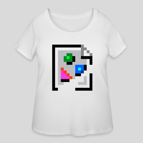 Broken Graphic / Missing image icon Mug - Women's Curvy T-Shirt