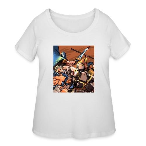 TS1 png - Women's Curvy T-Shirt