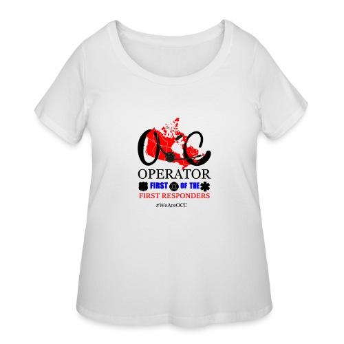 We Are OCC english - Women's Curvy T-Shirt