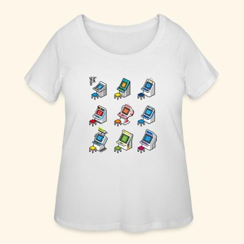 Pixelcandys - Women's Curvy T-Shirt