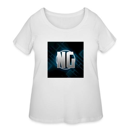 NadhirGamer Merch - Women's Curvy T-Shirt