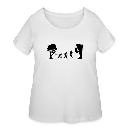 Apes Climb - Women's Curvy T-Shirt