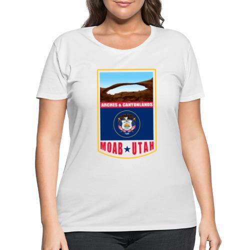 Utah - Moab, Arches & Canyonlands - Women's Curvy T-Shirt