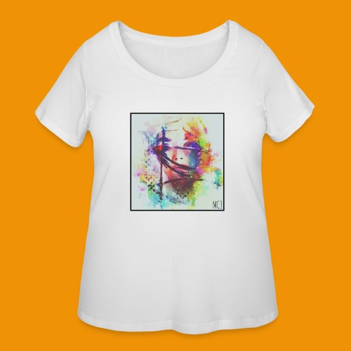 Trapped - Women's Curvy T-Shirt