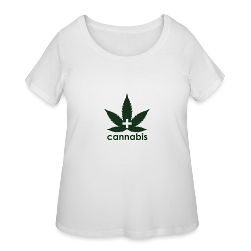 Medical Cannabis Supporter - Women's Curvy T-Shirt