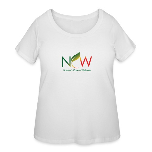 Ncw Big Logo - Women's Curvy T-Shirt