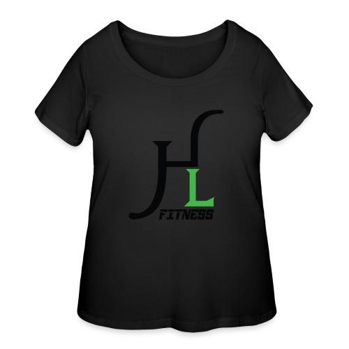 HIIT Life Fitness Logo - Women's Curvy T-Shirt
