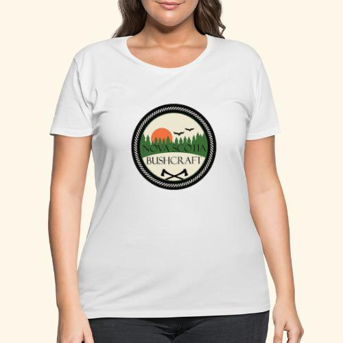Nova Scotia Bushcraft - Women's Curvy T-Shirt