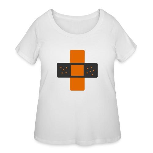 bloggingaid-icon - Women's Curvy T-Shirt