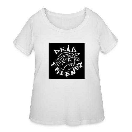 D.E.A.D FRIENDZ Records - Women's Curvy T-Shirt