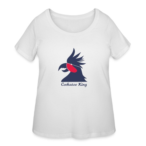 Cockatoo Logo - Women's Curvy T-Shirt