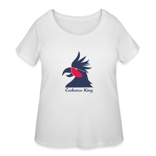 Cockatoo Logo - Women's Curvy T-Shirt