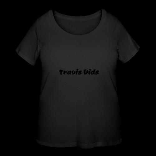 White shirt - Women's Curvy T-Shirt