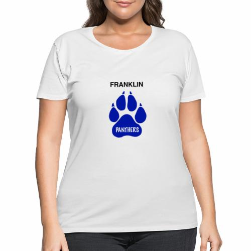 Franklin Panthers - Women's Curvy T-Shirt