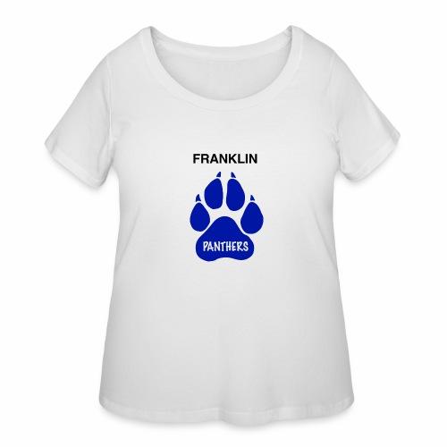 Franklin Panthers - Women's Curvy T-Shirt
