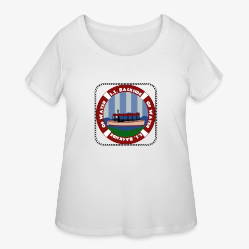 Our New Center Patch - Women's Curvy T-Shirt