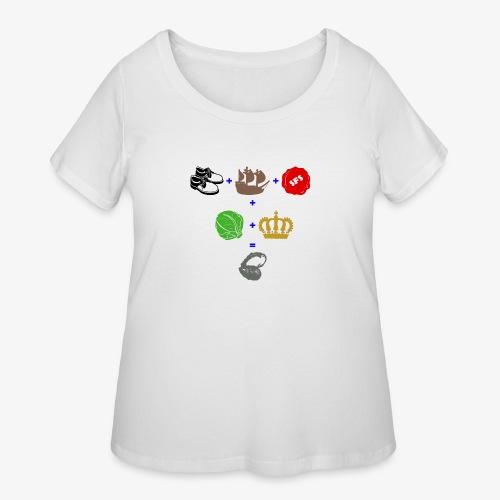 walrus and the carpenter - Women's Curvy T-Shirt