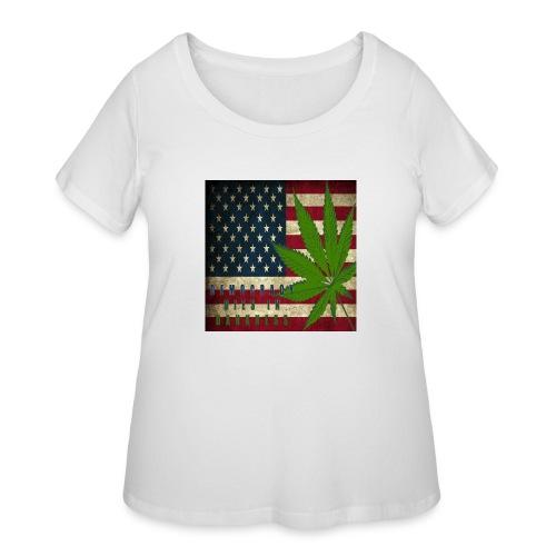 Political humor - Women's Curvy T-Shirt