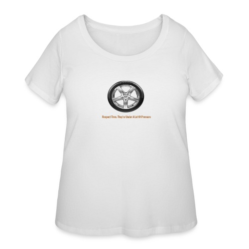 Respect Tires - Women's Curvy T-Shirt