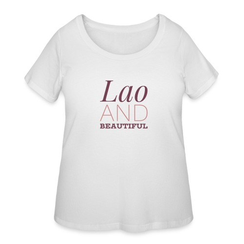 Beautiful - Women's Curvy T-Shirt