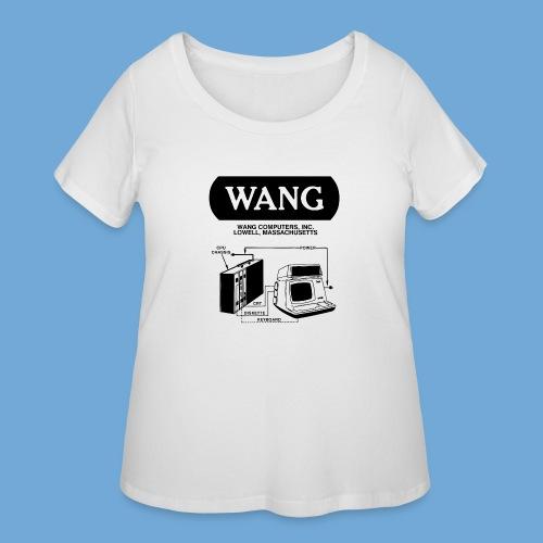 Wang Computers - Black - Women's Curvy T-Shirt