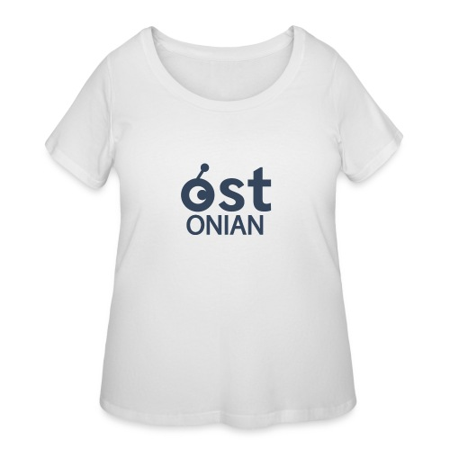 OSTonian by Glen Hendriks - Women's Curvy T-Shirt
