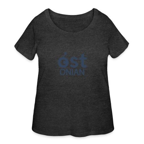 OSTonian by Glen Hendriks - Women's Curvy T-Shirt