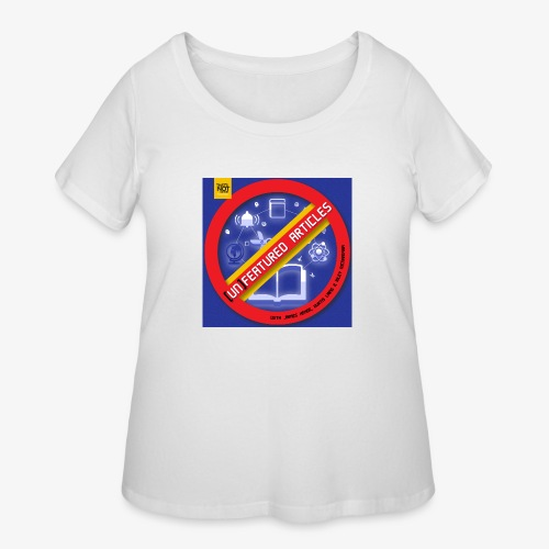 unFeatured Articles Cover - Women's Curvy T-Shirt