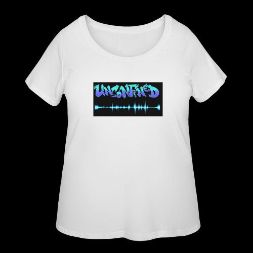 unconfined design1 - Women's Curvy T-Shirt