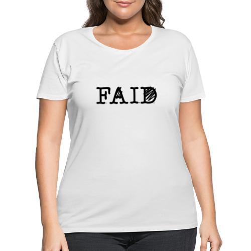 THE ILLennials F.A.I.D. - Women's Curvy T-Shirt