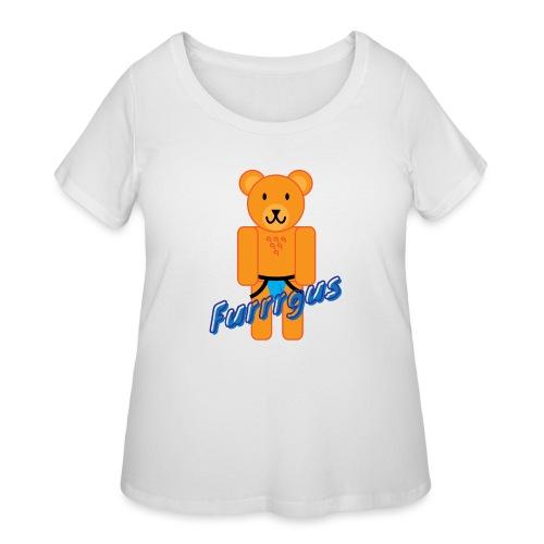 Furrrgus @ Underbear - Women's Curvy T-Shirt