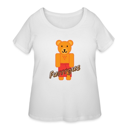 Presidential Suite Furrrgus - Women's Curvy T-Shirt