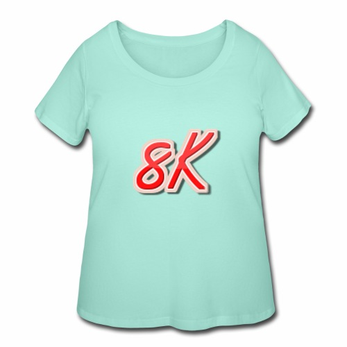 8K - Women's Curvy T-Shirt