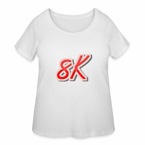 8K - Women's Curvy T-Shirt