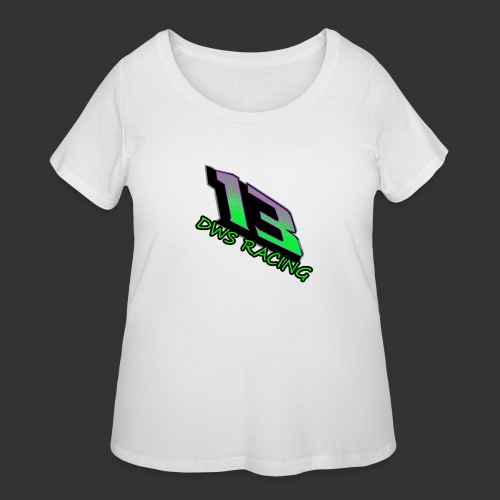 13 copy png - Women's Curvy T-Shirt